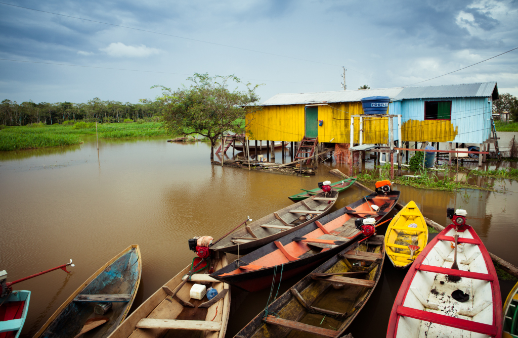 boats in amazon