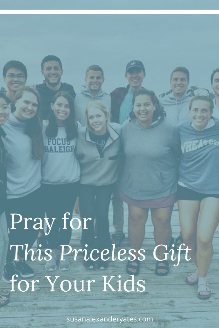 Pinterest image: Pray for This Priceless Gift for Your Kids