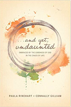 book cover: and yet undaunted