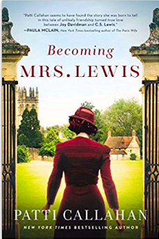 book cover: Becoming Mrs. Lewis