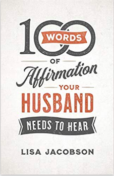 book cover: 100 words of affirmation your husband needs to hear