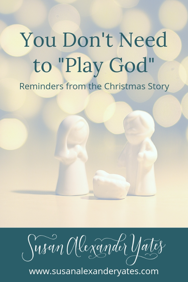 Do you ever feel like you know the Christmas story backwards and forwards, and while it's wonderful, it's so incredibly familiar? Want a fresh perspective? If you're one who enjoys being in control(let me just raise my hand here), this one's for you.