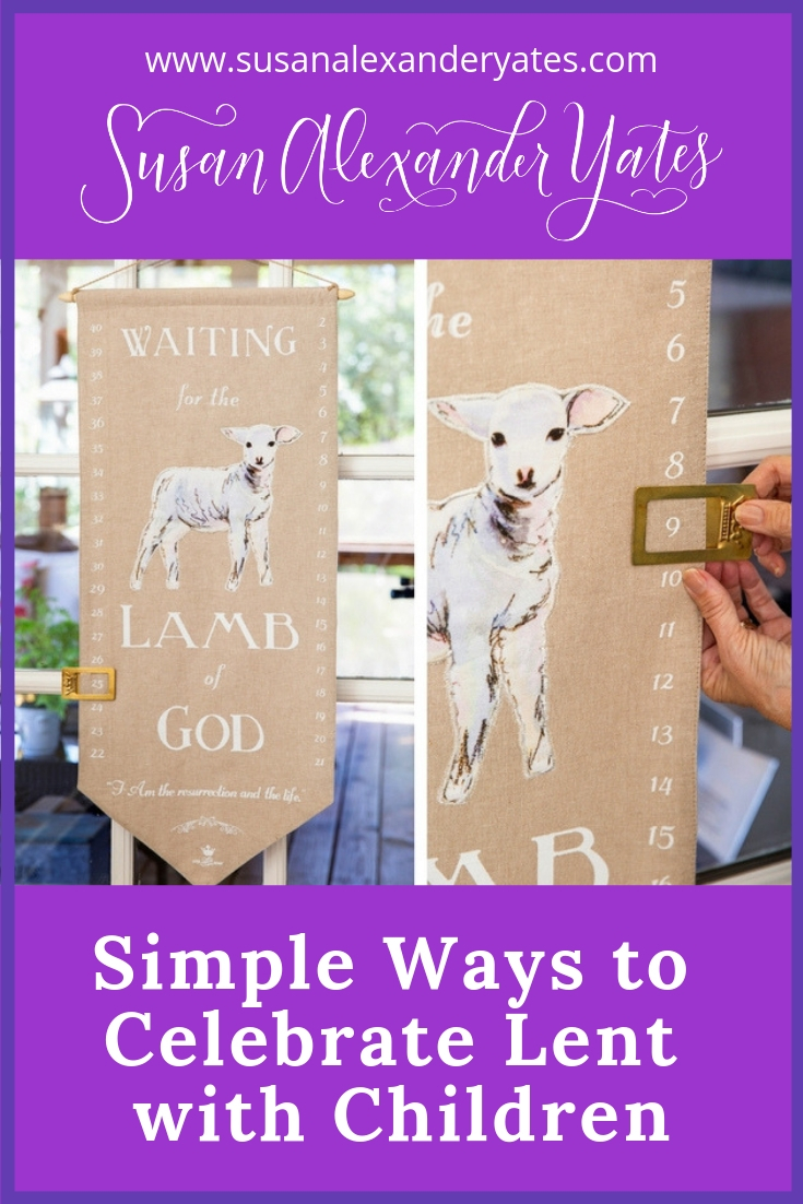 Have you wondered about how to celebrate Lent with children? I have some resources for you to make Lent a time of joyful reflection for the whole family!